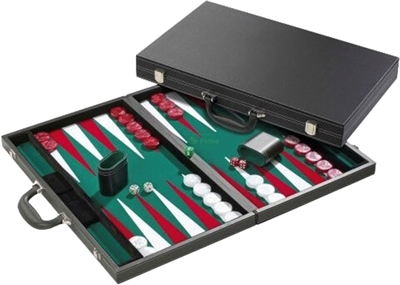 Backgammon Case Deluxe