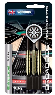 Broadside brass softip dartpiler fra Winmau
