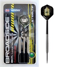 BROADSIDE 80 % NT Winmau dartpiler